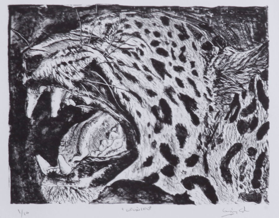 litografia german castro escultor